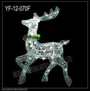 Iron Wire Reindeer (YF-012-070F)