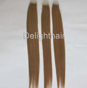 China Supplier 100% Peruvian Invisible Tape Hair Extensions Nhte-016