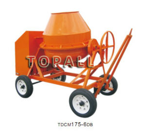 Hand Fed Concrete Mixer Tdcm175-6da/B (10/7 Cft.) pictures & photos