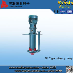 Sp Submersible Vertical Centrifugal Slurry Pump-Sanlian/Kubota pictures & photos