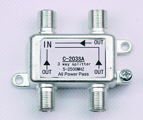 3way 5-2500MHz Smatv Splitter (SHJ-C203SA) pictures & photos