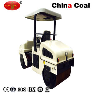 Zm-3000 Mini Diesel Engine Hydraulic Vibratory Road Roller Compactor pictures & photos