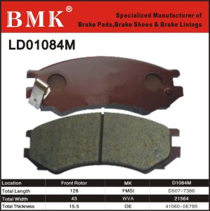 Advanced Quality Brake Pads (D1084M) pictures & photos