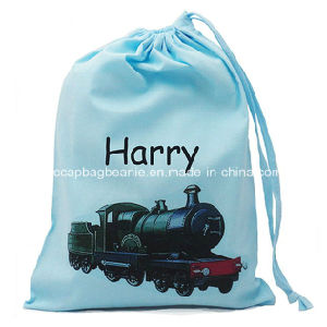 Top Quality Logo Printed Drawstring Cinch Bag pictures & photos