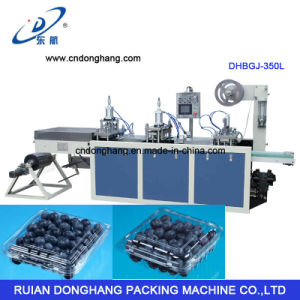 Pet Blueberry Container Making Machine (DHBGJ-350L) pictures & photos