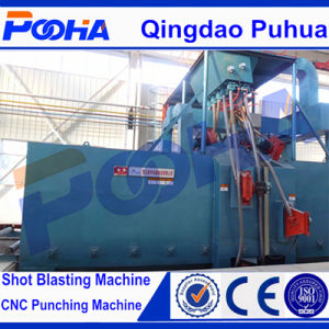 Hot Inquiry Beam Roller Conveyor Wheel Shot Blasting Machine pictures & photos