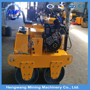 Ride on Double Drum Vibratory Road Roller Compactor Machine pictures & photos