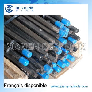 Hexagon 108mm Taper Drill Steel for Rock Mining pictures & photos