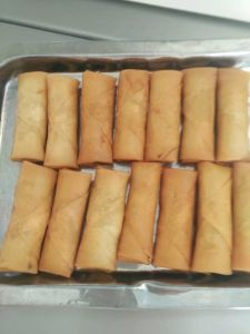 Tsing Tao Vegetable Frozen 20g/Piece Spring Rolls pictures & photos