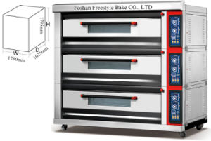 Luxurious Gas Deck Oven (FB-ALB-09Q) pictures & photos