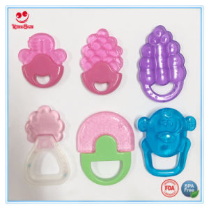 Food Grade Chewing Teether for Baby Biting pictures & photos