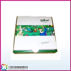 Customized Corrugated Environmental Kraft Paper Colorful Pizza Packaging Box pictures & photos