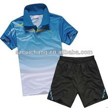 Professional Dry Fit Custom Design Badminton Jersey pictures & photos