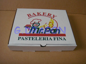 Locking Corners Pizza Box for Stability and Durability (CCB026) pictures & photos