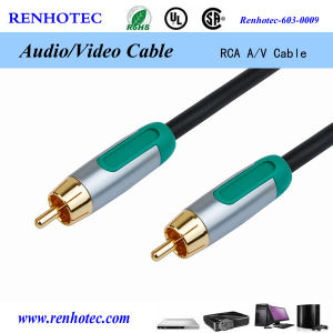 3RCA to 3RCA Cable M/M RCA Cable AV Connection Cable pictures & photos