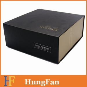 Coated Art Paper Gift Paper Box with Magnet Template Folded Box pictures & photos