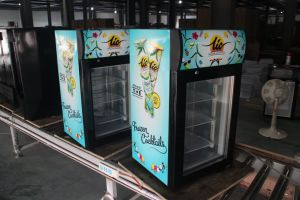Mini Upright Display Freezer SD-50L pictures & photos