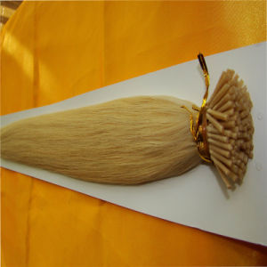 Wholesale Stick Prebonded Hair Extensions Real Human Hair Tanglefree pictures & photos