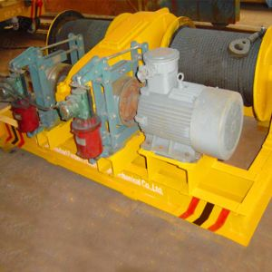 15kn Slow Speed Electric Winch for Underground Mill pictures & photos