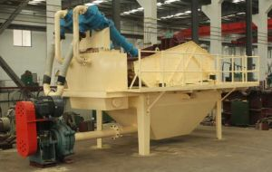 Fine Sand Recovery System/Fine Sand Recovery Device