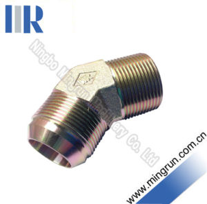 45 Elbow Jic Male / BSPT Male Hydraulic Tube Fitting (1JT4-SP)