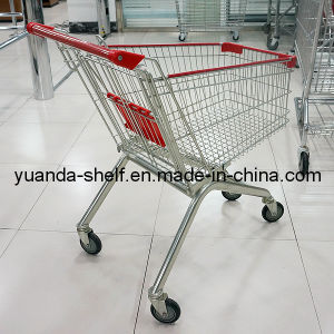 Finished with Chrome Shopping Trolley pictures & photos
