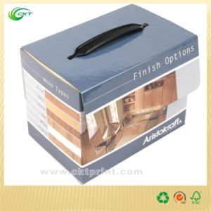 Drink Packaging Box with Handle (CKT CBH-258)