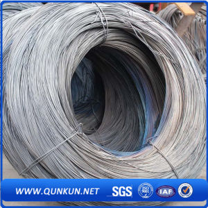 SAE1008 Hot Rolled Ms High Carbon Steel Wire Rod pictures & photos