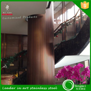 304, 316 Stainless Steel Column Cladding Panel for Hotel Decoration pictures & photos
