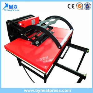 Large Format High Pressure Manual Heat Transfer Machine (70X100cm) pictures & photos