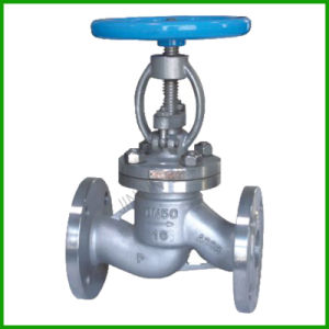 Stainless Steel Globe Valve with Flange Ends pictures & photos