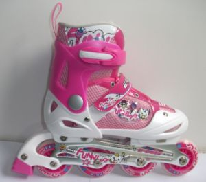 Adjustable Carton Design Inline Skate