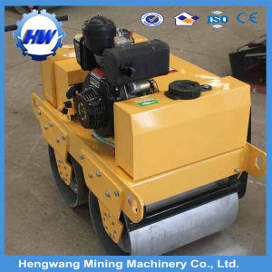 Walk Behind Double Drum Vibratory Road Roller pictures & photos