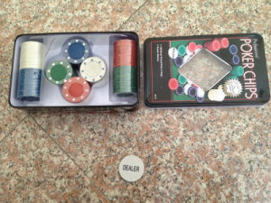 Promotion Poker Chips (tinbox packing)