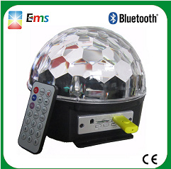 Manufacture LED Crystal Magic Ball Light MP3 Player Disco Magic Light with Bluetooth pictures & photos