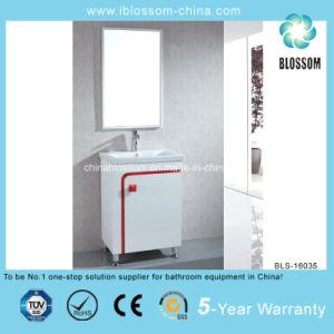 One Door Simple Small Bathroom Cabinet (BLS-16035) pictures & photos