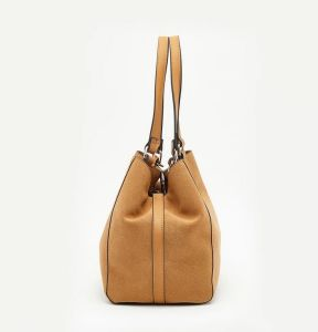 Designer PU Nubuck Leather Tote Bag Leisure Shopping Bag pictures & photos