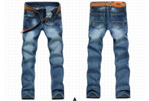 1568 Men Fashion Washing Indigo Blue Denim Jeans pictures & photos