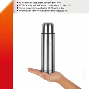 Stainless Steel Vacuum Sealed Water Flask pictures & photos