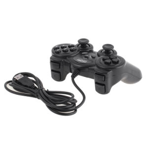 PC USB Dual Game Controller for PC with Twin Shock