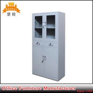 Made in Metal Bookcase Storage Steel Cupboard Cabinet pictures & photos