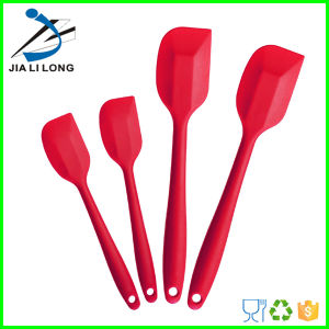 Kitchen Utensils Food Grade Approved Silicone Spatula Set for Baking