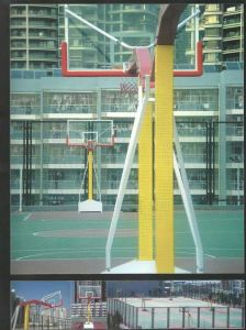 Residental Poly Carbonate Tempered Glass Basketball Backboard pictures & photos
