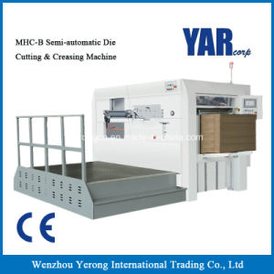 Mhc-B Series Semi-Automatic Die Cutting & Creasing Machine with Ce pictures & photos