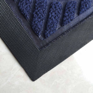 Wholesale Anti Slip Commerical Residential Indoor Outdoor Entrance Entry Welcome Foot Carpet Floor Front Door Mats pictures & photos