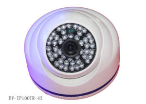 "1/4"" CMOS Onvif IP Security Cameras 720p 1.0MP, CCTV Dome Camera Night Owl pictures & photos"