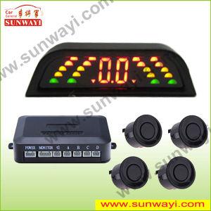 LED Display 4 Head Backup Reverse Parking Sensor