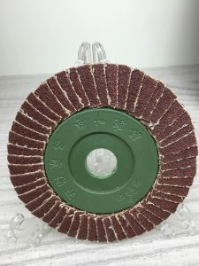 "4"" Aluminum Oxide Flap Wheel for Wholesale in Low Price pictures & photos"