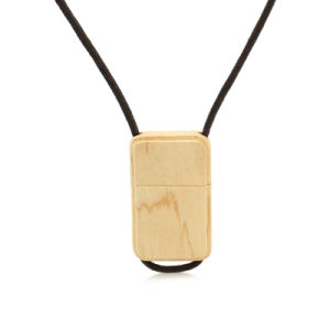 New Fashion Wooden Bamboo USB Flash Drive with Necklace USB 2.0 Memory Stick Pen Drive Storage Device pictures & photos