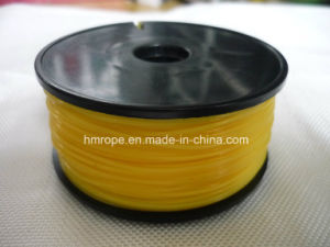 Nylon Bulding Line Monofilament-Single Ply Yellow Color pictures & photos